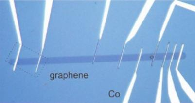 ICN2 graphene device spin lifetime photo