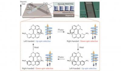 Undirectional rotation of artificial molecular motors (RIKEN)