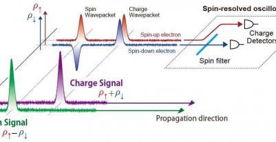 Spin resolved oscilloscope scheme (TIT 2017)