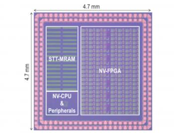 Spintronics 200Mhz MCU (Tohoku University) photo